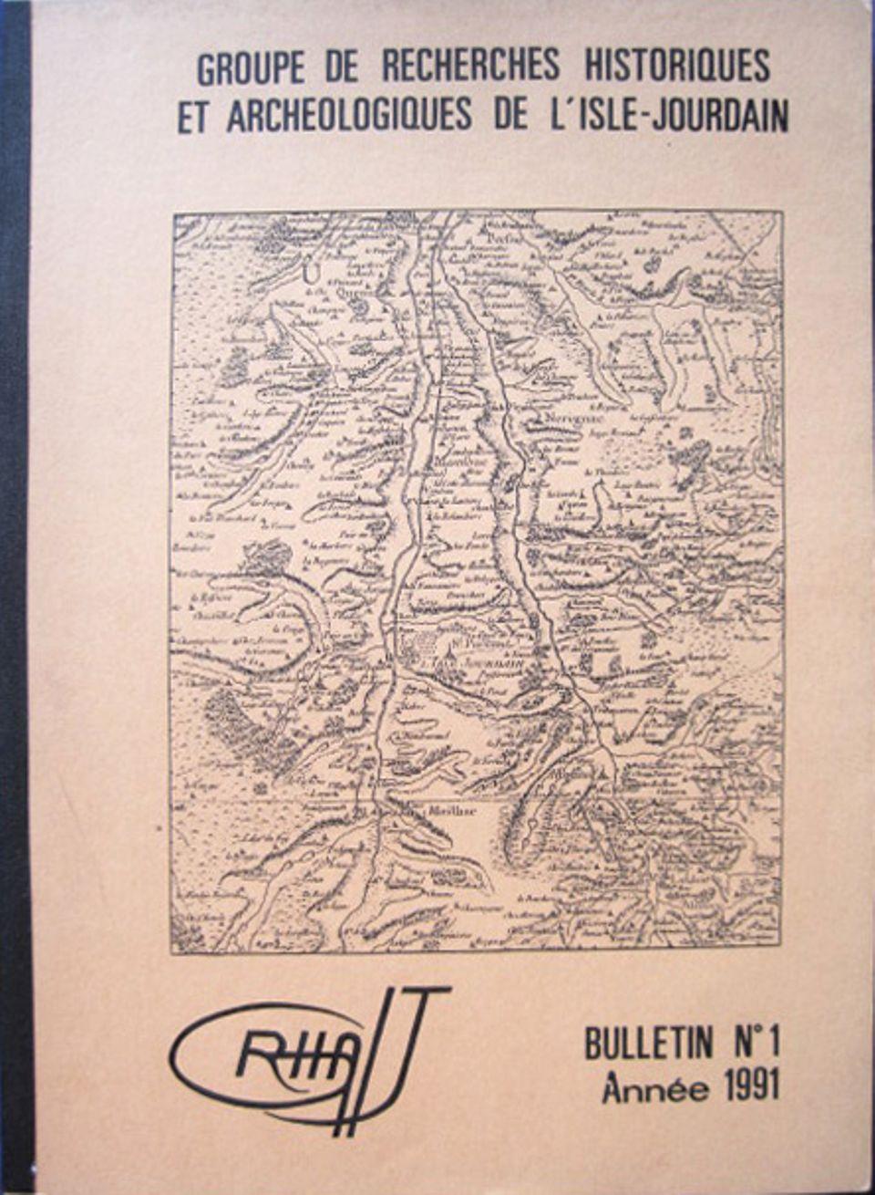 Bulletin du GRHAIJ, Bulletin n°1 - 1991,