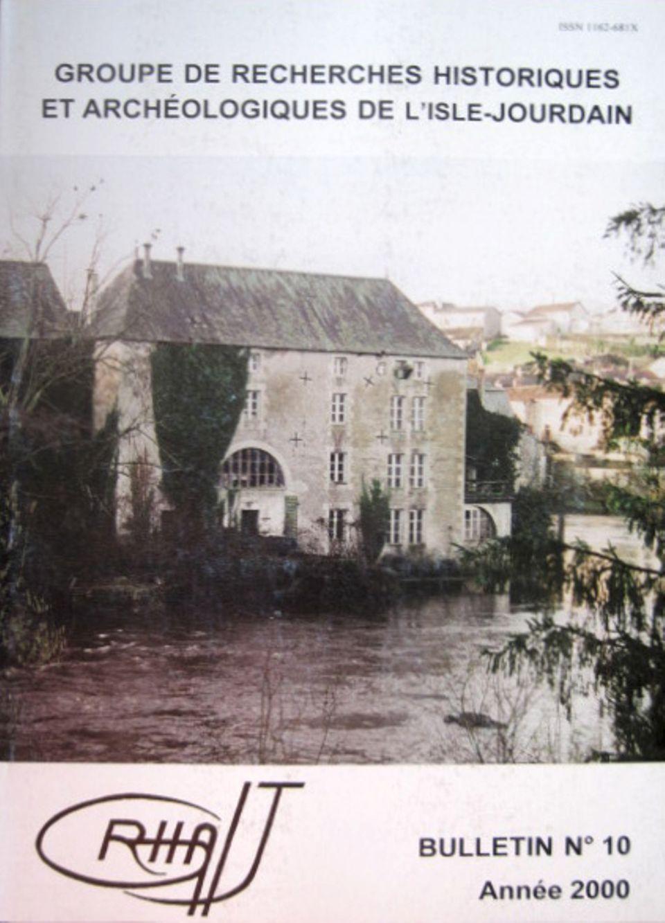 Bulletin du GRHAIJ, Bulletin n°10 - 2000,