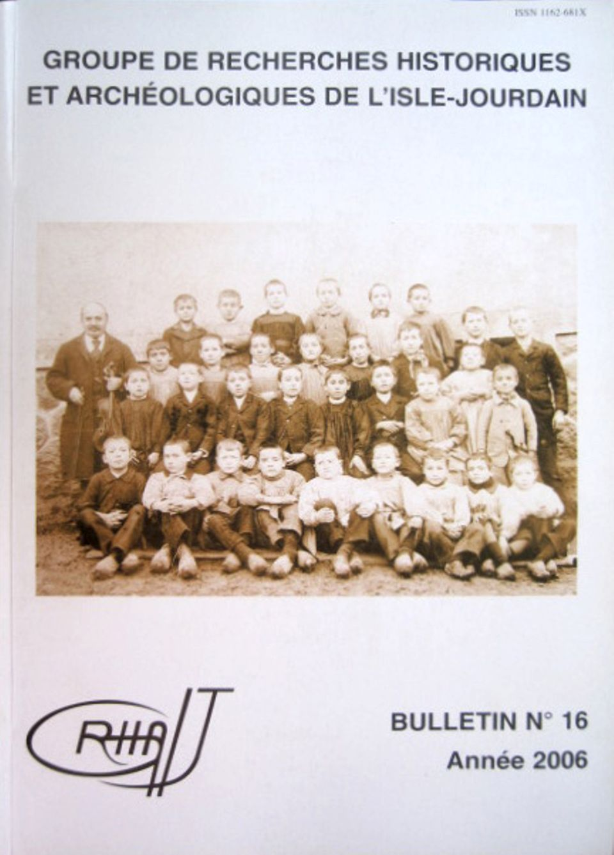 Bulletin du GRHAIJ, Bulletin n°16 - 2006,