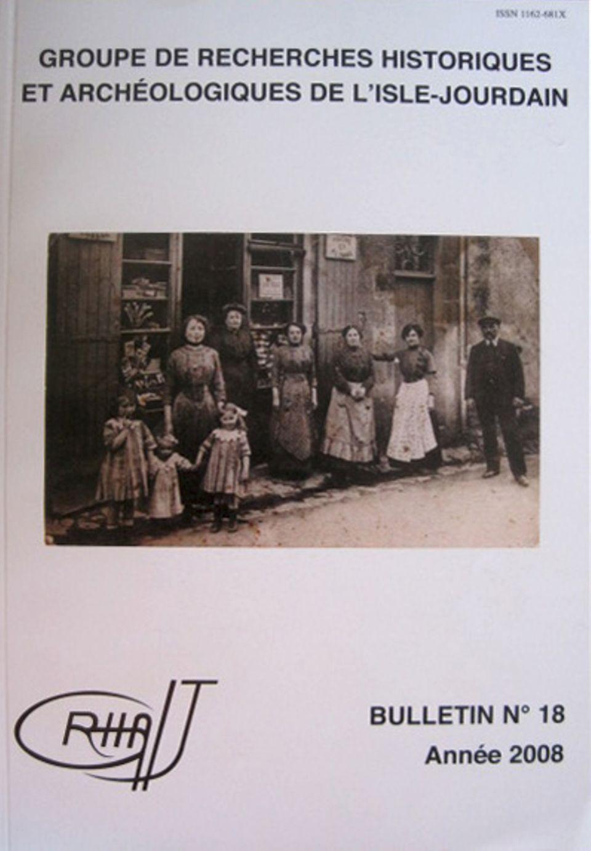 Bulletin du GRHAIJ, Bulletin n°18 - 2008,