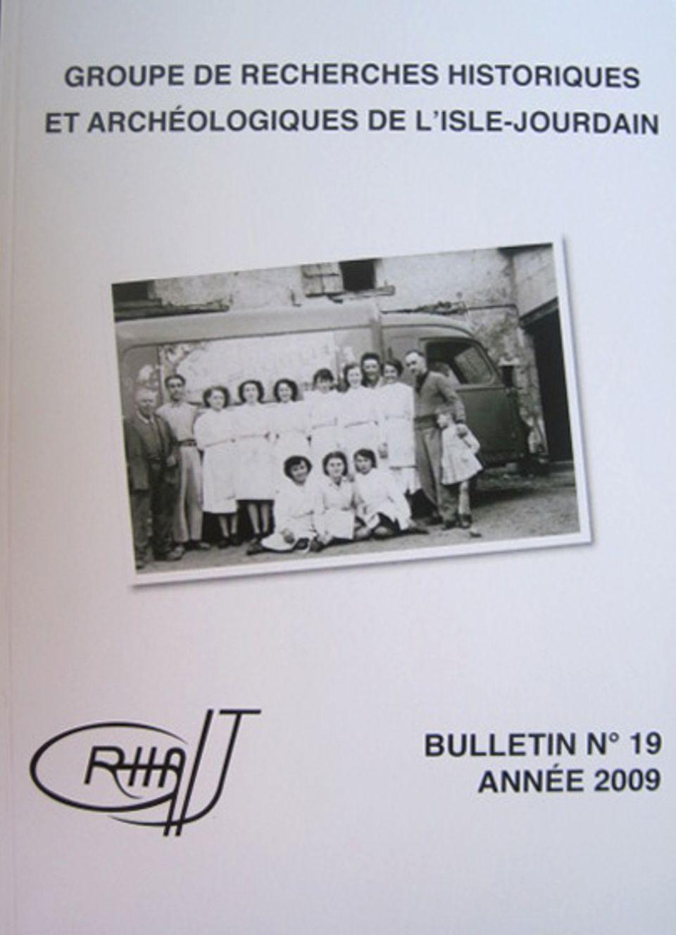Bulletin du GRHAIJ, Bulletin n°19 - 2009,