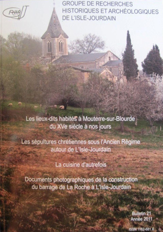 Bulletin du GRHAIJ, Bulletin n°21 - 2012,