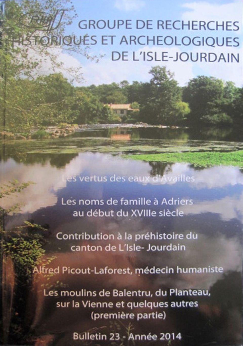 Bulletin du GRHAIJ, Bulletin n°23 - 2014,