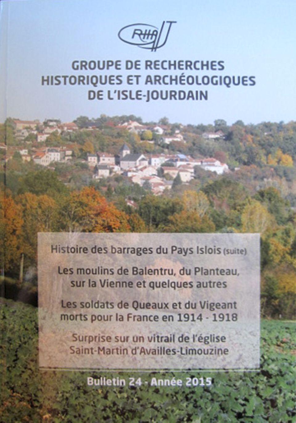 Bulletin du GRHAIJ, Bulletin n°24 - 2015,