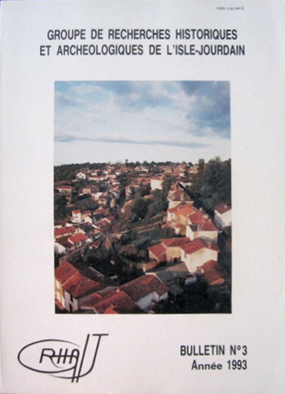 Bulletin du GRHAIJ, Bulletin n°3 - 1993,