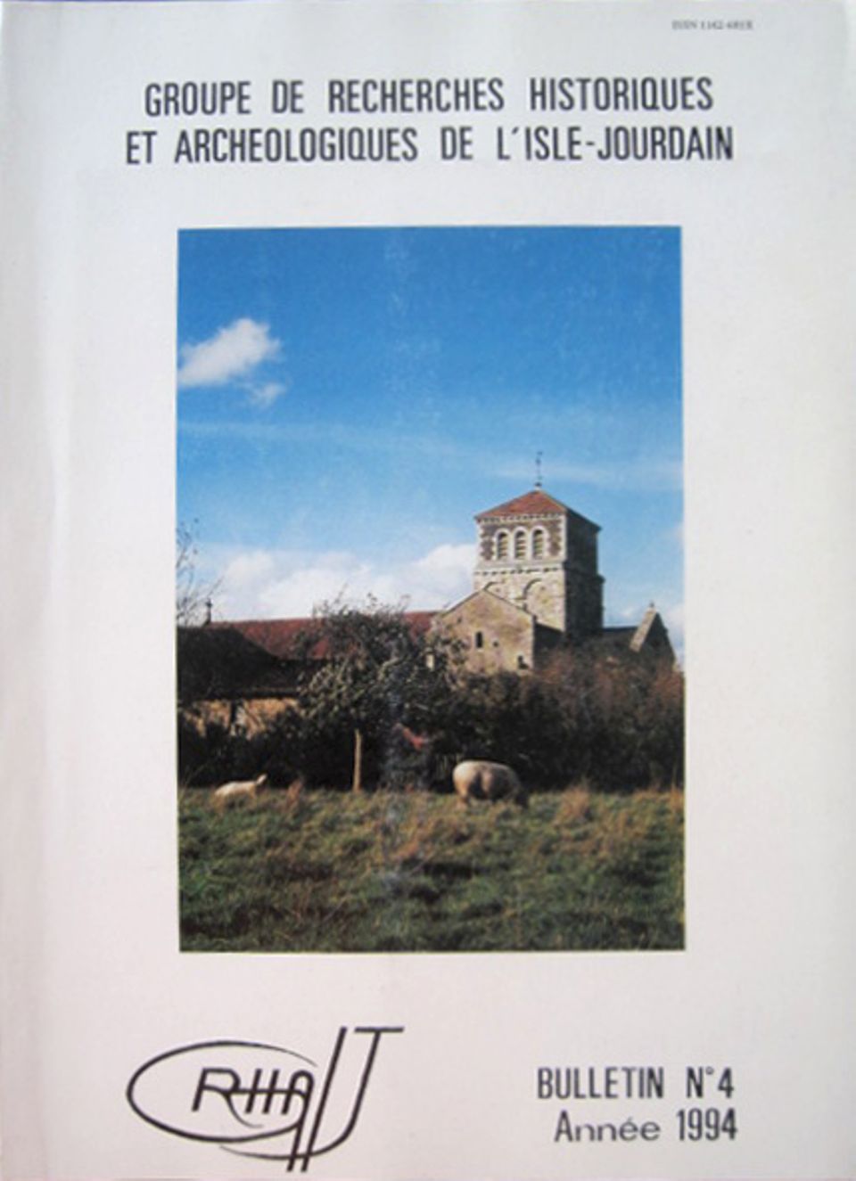 Bulletin du GRHAIJ, Bulletin n°4 - 1994,