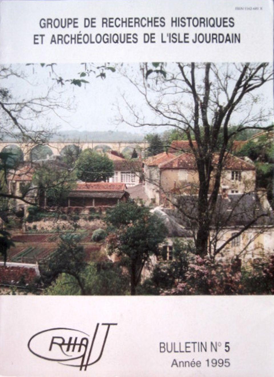 Bulletin du GRHAIJ, Bulletin n°5 - 1995,