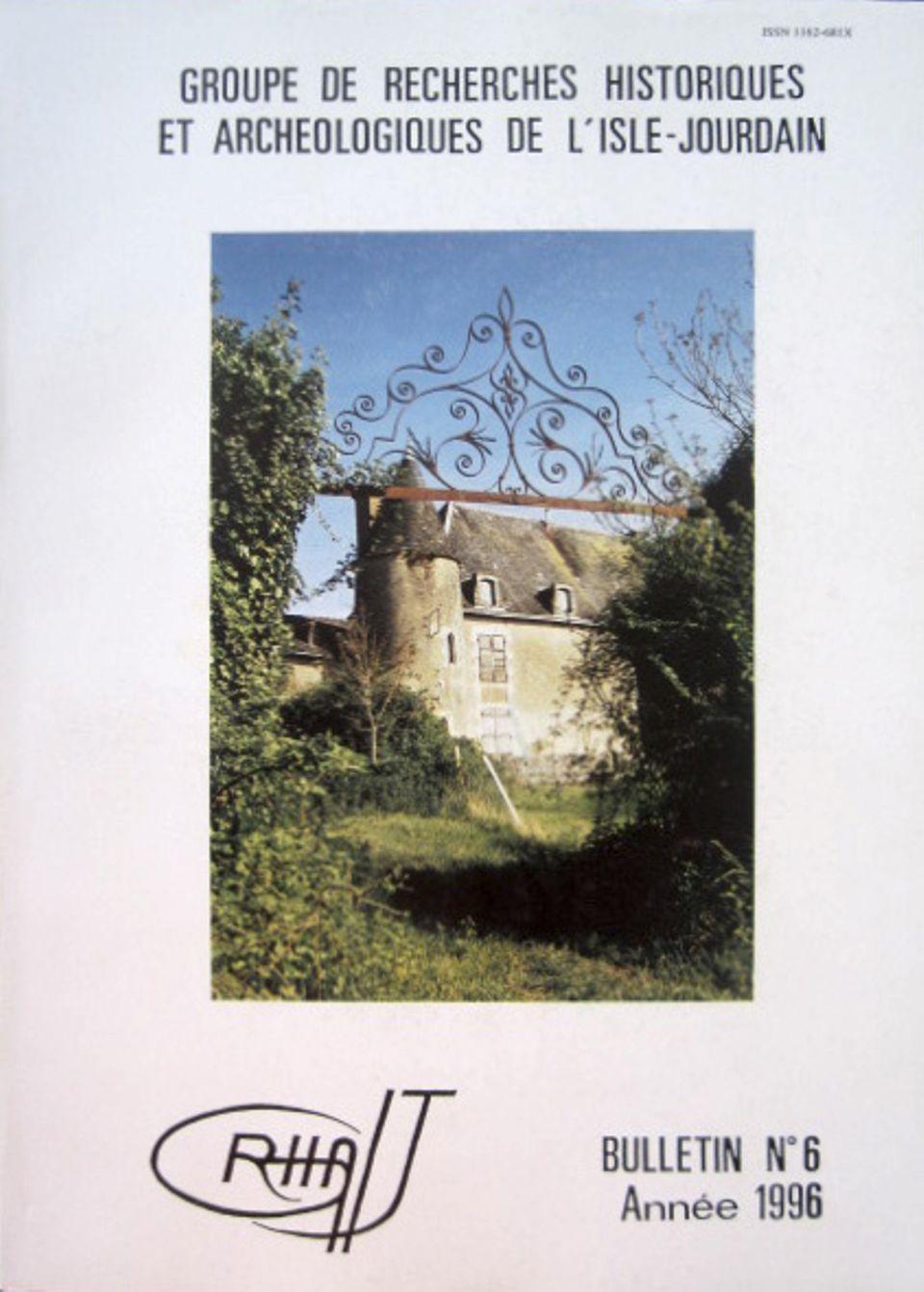 Bulletin du GRHAIJ, Bulletin n°6 - 1996,