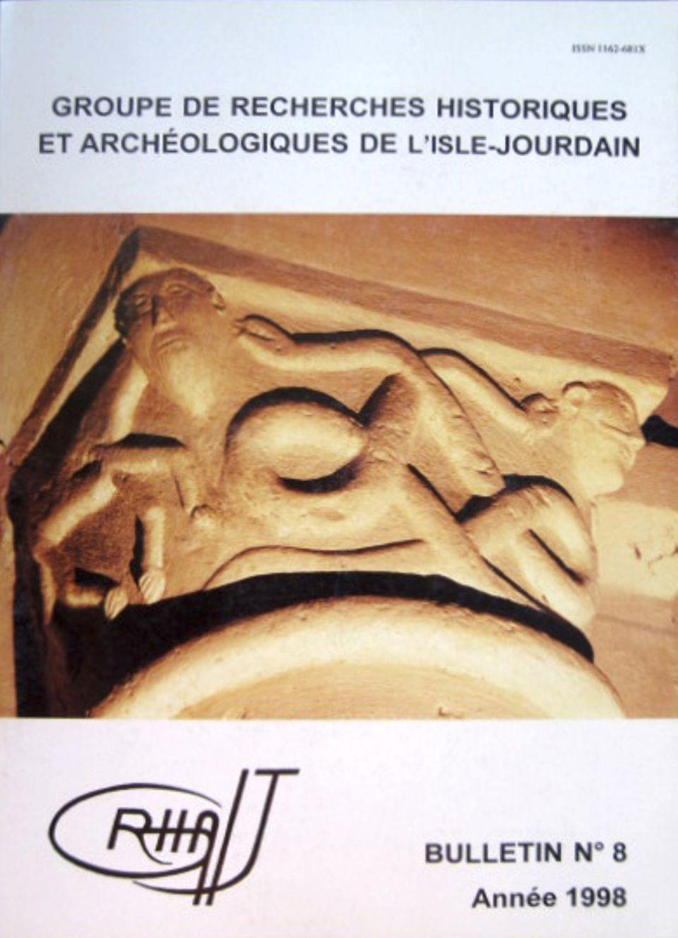 Bulletin du GRHAIJ, Bulletin n°8 - 1998,